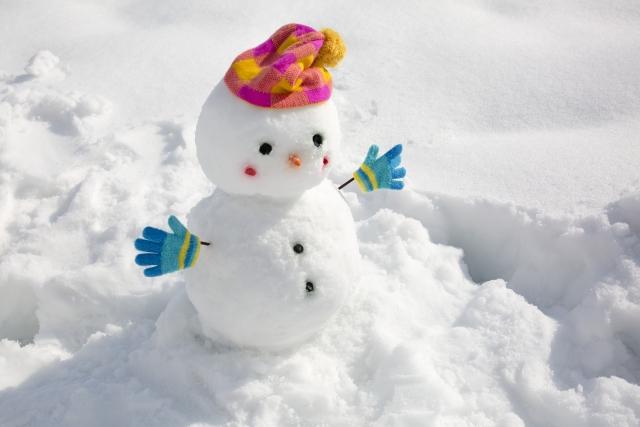 雪遊びに必要なアイテム