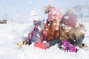 雪遊びのアイテム