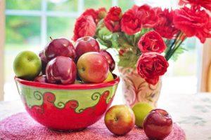 りんごの食べ方