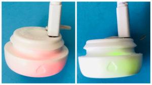 プレイブラッシュ充電ランプ