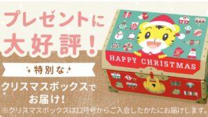 クリスマスBOX(公式サイトより)